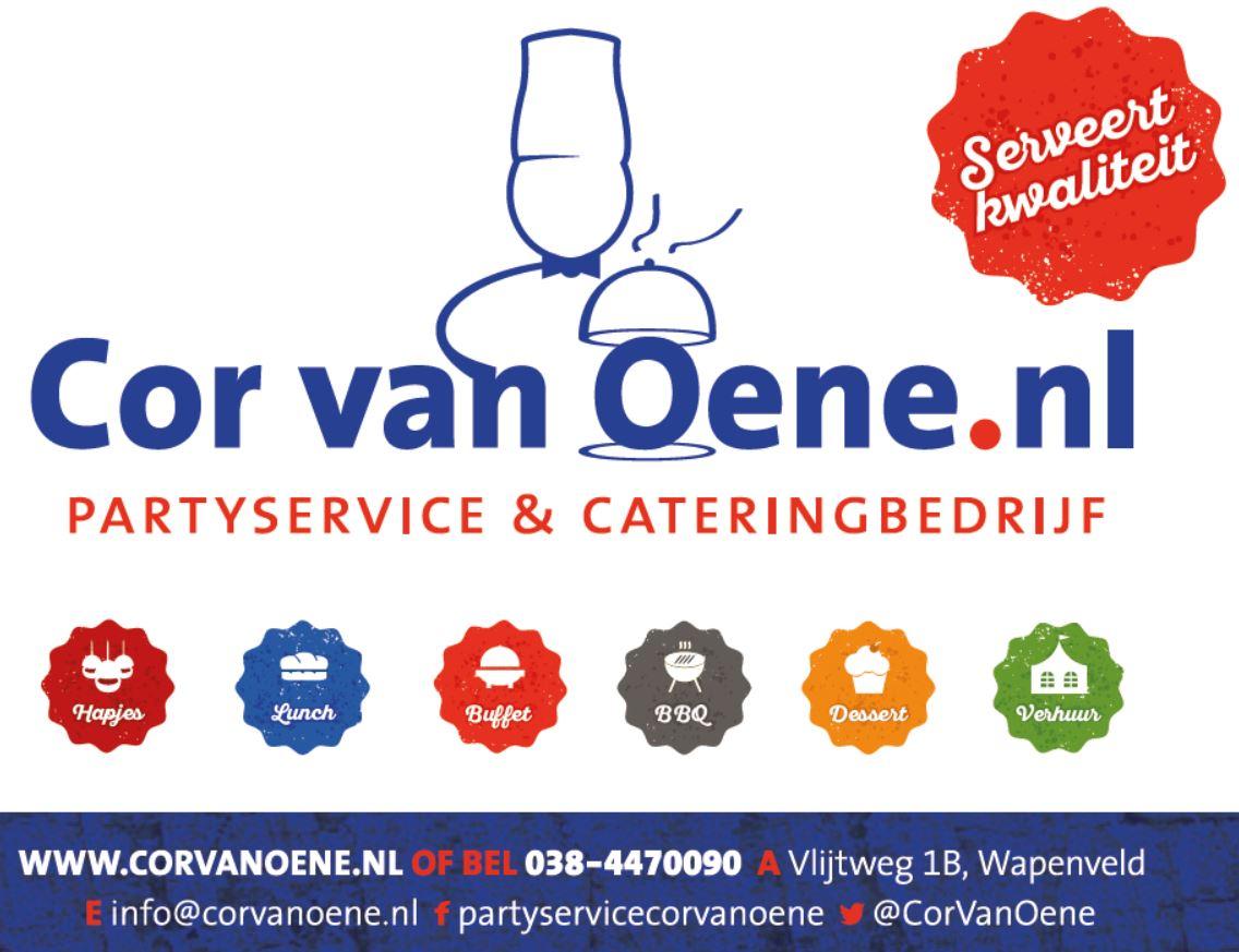 Partyservice en cateringbedrijf Cor van Oene